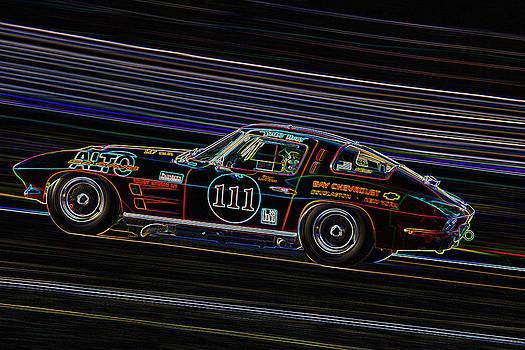 Corvette Stingray racer by Peter Falkner