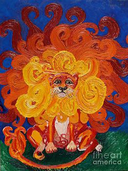 Cosmic Lion by Cassandra Buckley