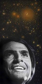 Cosmos- Carl Sagan by Simon Kregar