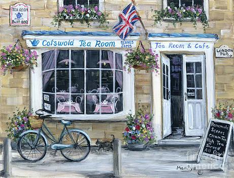 Cotswold Tea Room by Marilyn Dunlap