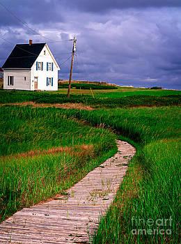 Edward Fielding - Cottage Among the Dunes