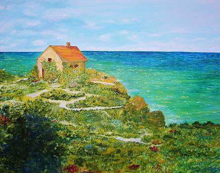 Cottage by the Sea by Julie Lourenco