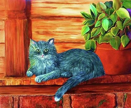 Country Cat by Jane Ricker