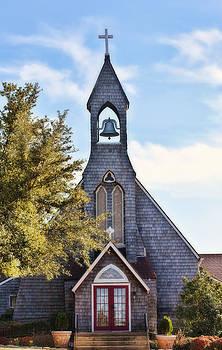 Country Church by Joan Bertucci