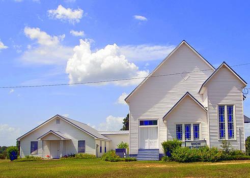 Country Church Snow GA. by Danny Jones