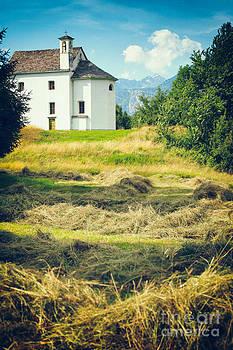 Silvia Ganora - Country church with hay
