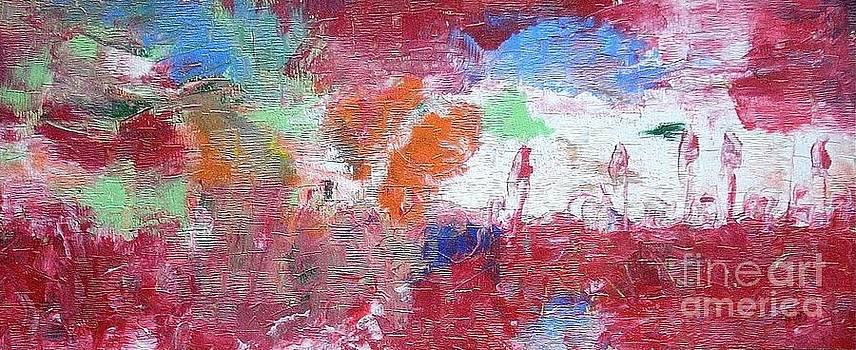 Country Crimson Tabernacles by Dmitry Kazakov