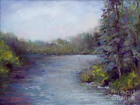 Country Lake by Joyce A Guariglia
