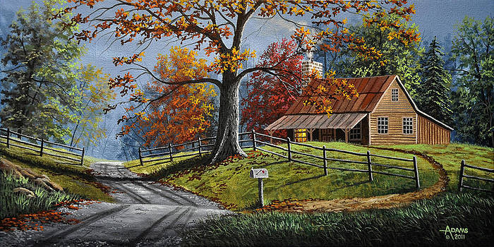 Country Life by Gary Adams