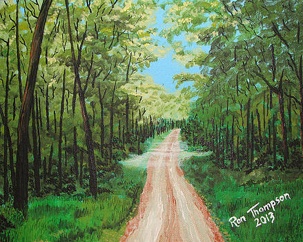 Country Road by Ron Thompson