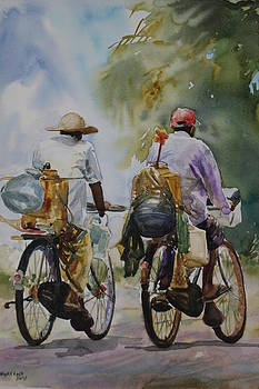 Country Side Scene by Rohitha Yudaganawa