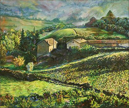 Country Sundown by Karen McKean