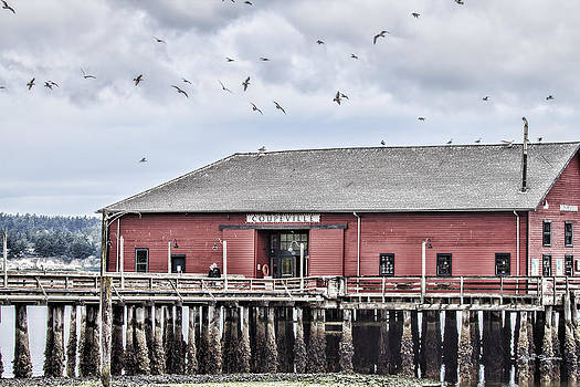 Coupeville Wharf by Jeff Swanson