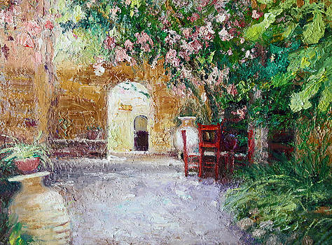 Courtyard by Benjamin Johnson