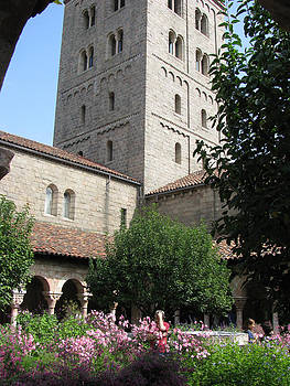 Courtyard in the Cloisters by Paul Thomas