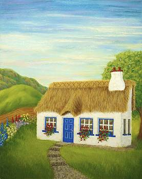 Cover Art for Briarwood Cottage by JoAnn Ross by Rebecca Prough