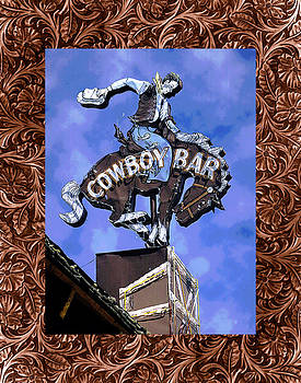 Cowboy Bar by Richard Newman