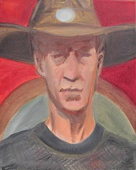 Cowboy by Jeffrey Oleniacz