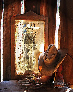 Cowboy Reflections by Pam Carter