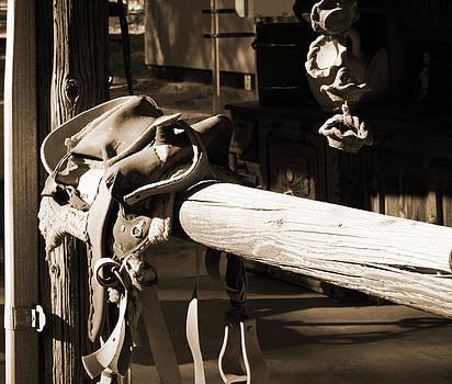 Cowboy's Saddle by Sharon McLain
