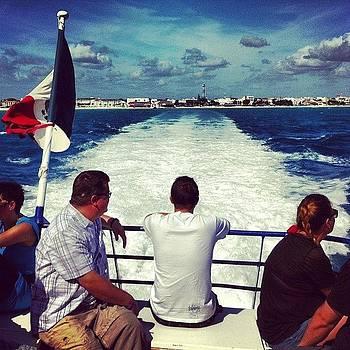 #cozumel #ferry #mexico #dock #rail by Shawn Who