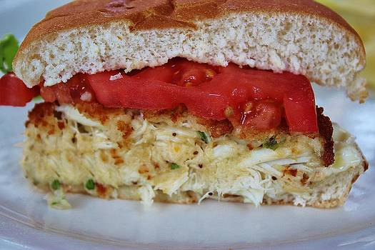 Paulette Thomas - Crab Cake Sandwich