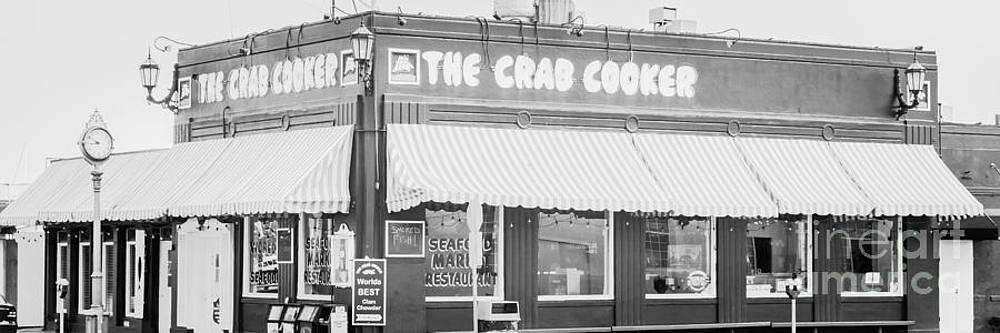 Paul Velgos - Crab Cooker Newport Beach Black and White Photo