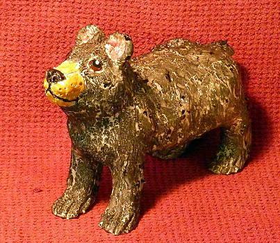 Crackle Bear by Debbie Limoli