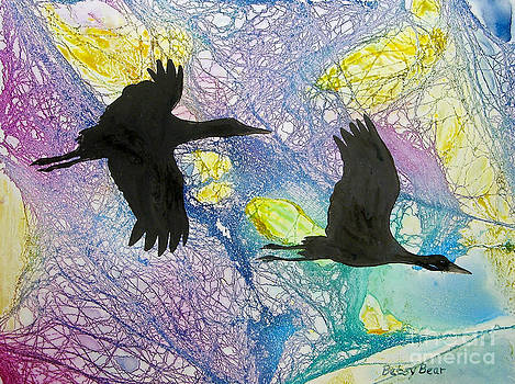 Crane Journey by Betsy Bear
