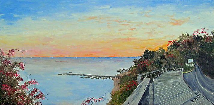 Crashboat Beach Sunrise by Gloria E Barreto-Rodriguez
