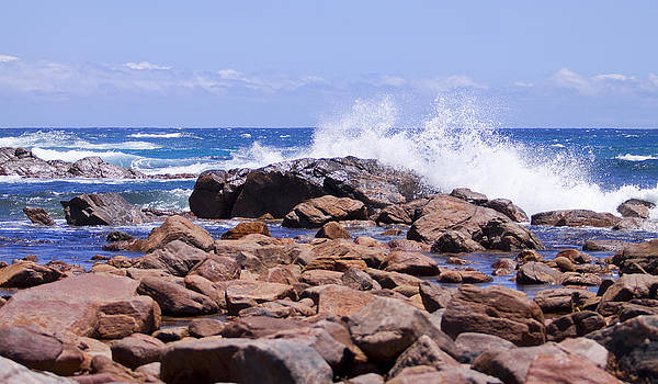 Michelle Wrighton - Crashing Waves