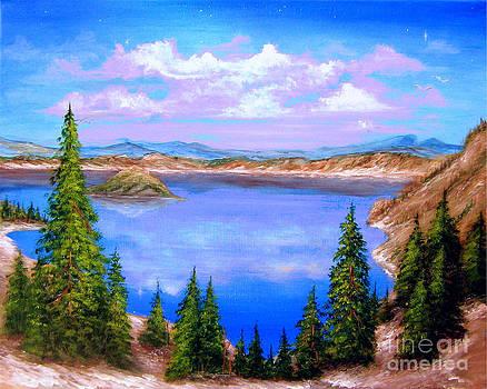 Crater Lake Oregon by Patrice Torrillo