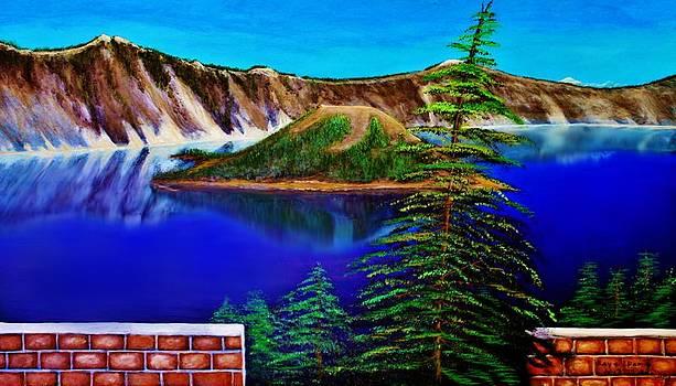 Crator Lake by Dlbt-art