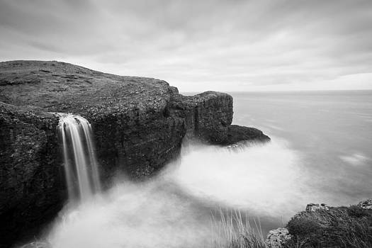 Crawton Falls - Scotland by Arianna Petrovan