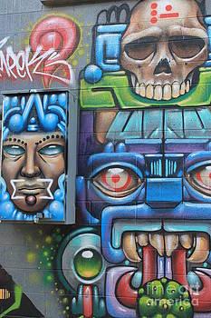 Crazy Graffiti Art by Teresa Thomas
