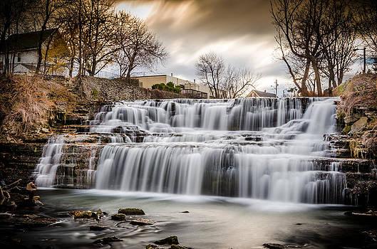 Creamy Falls by Anthony Morganti