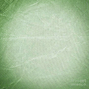 Tim Hester - Creased Green Fabric Background