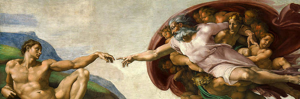 Creation by Michelangelo