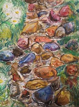 Creek Bed by Cindy Lawson-Kester