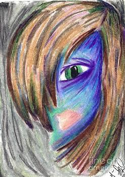 Creepily Colored Smooth by Marie De Garo