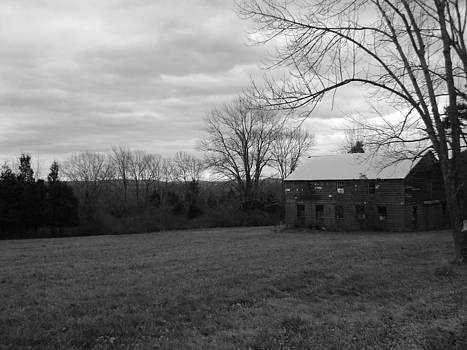 Creepy Barn by William Vivian