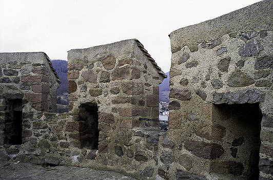 Crenels of an old tower by Patrick Kessler