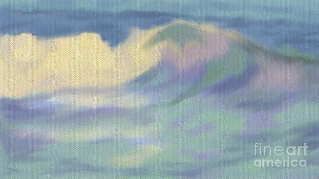 Cresting Wave by Arlene Babad