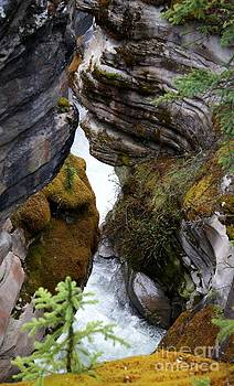 Gail Matthews - Crevice View where Falls drop to