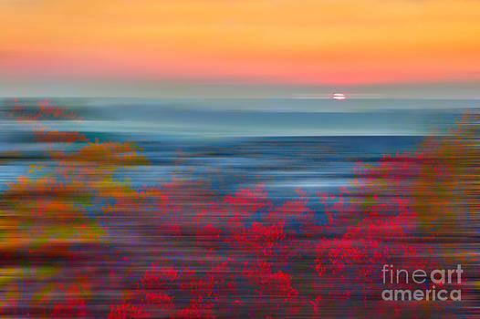 Dan Carmichael - Crimson Dawn - a Tranquil Moments Landscape