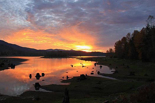 Crisp Sunset by Jeff Sommerfield