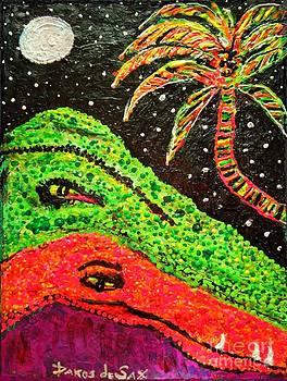 Crocodile Rock by Darlyne Sax