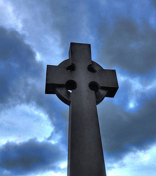 Cross And Sky by David  Jones