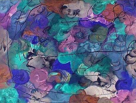 Crossed Brain Waves by Ginger Lovellette