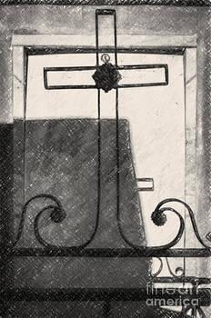 Kathleen K Parker - Crosses Voided Wrought Iron _ NOLA